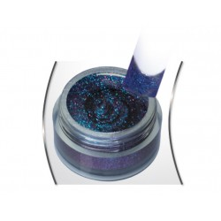 Gel Glitter Flip Flop Blue Violet 5ml