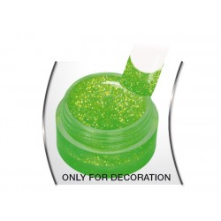 Gel Glitter Pixie Green 5ml.